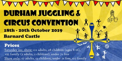 Durham Juggling & Circus Convention 2019