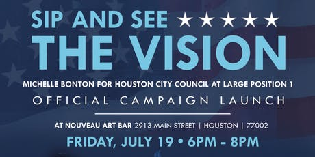 Sip and See the Vision - Official Campaign Launch tickets