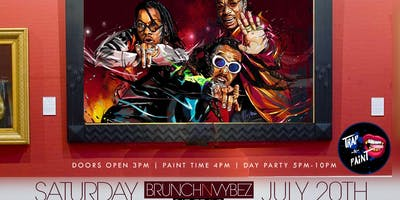Brunch-N-Vybez presents Trap & Paint ( Hosted by GPthaGENERAL)