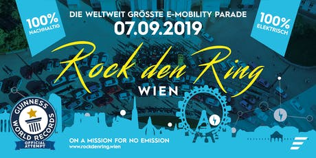 Rock den Ring 2019: E-Mobility Parade Tickets