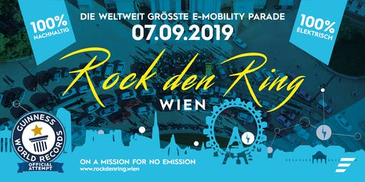 Rock den Ring 2019: E-Mobility Parade