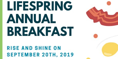 LifeSpring Community Health's Annual Breakfast tickets