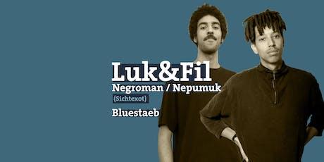 Negroman / Knowsum / Nepumuk / Luk & Fil • Münster Tickets