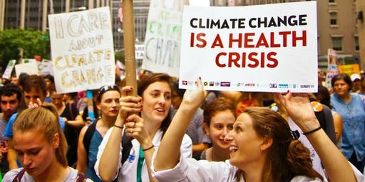 I'm a Health Worker – Let's Talk About the Climate Breakdown!