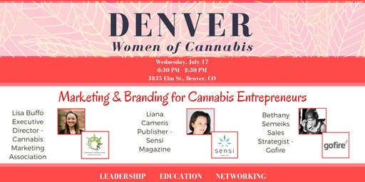 Denver Women of Cannabis - July Networking Event