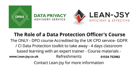 The Role of a Data Protection Officer - UK CPD Certified - Register an interest tickets