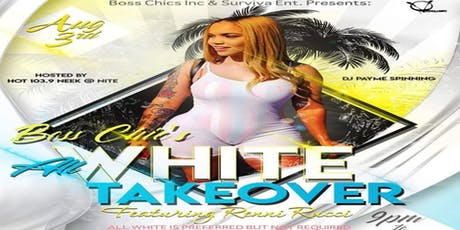 All White Takeover  tickets