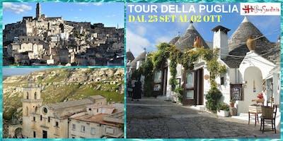 TOUR DELLA PUGLIA:DAL 25 SET AL 02 OTT