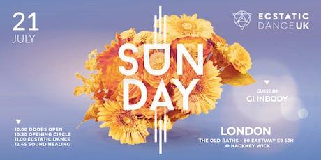 Ecstatic Dance UK - SUN•DAY tickets