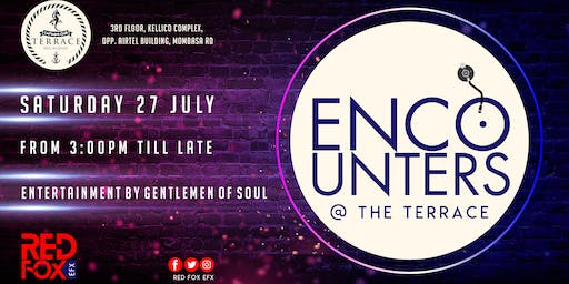 Encounters @ The Terrace Vol. 8 (Deep Chill Edition) 27.07.2019