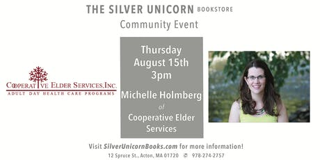 Community Event: Michelle Holmberg of Cooperative Elder Services tickets