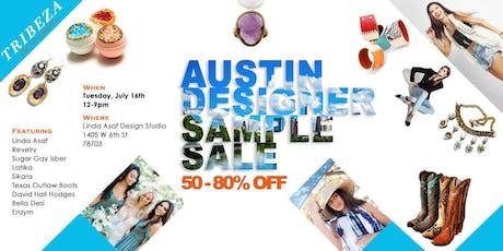 AUSTIN DESIGNER SAMPLE SALE  |  50% - 80% OFF! tickets
