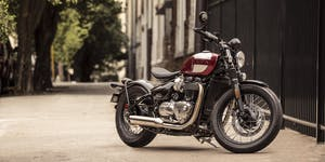 Triumph Bonneville Bobber Test Ride