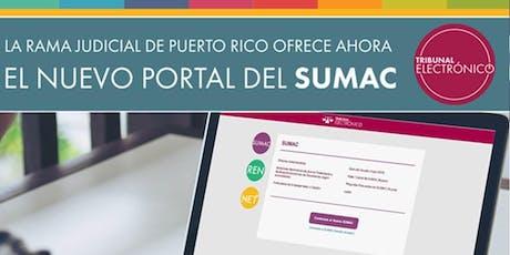 Elementos esenciales para el uso de la nueva plataforma del SUMAC tickets