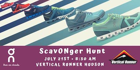 ScavONger Hunt tickets