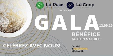 Gala - Anniversaire / Évènement bénéfice et éco-responsable tickets