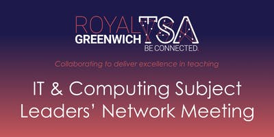 IT & Computing Subject Leaders' Network Meeting