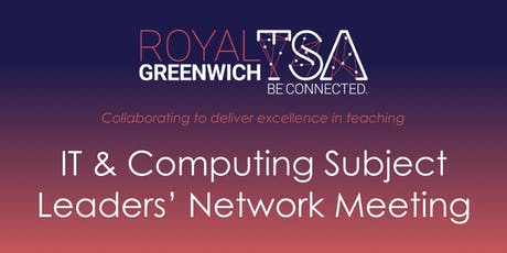 IT & Computing Subject Leaders' Network Meeting tickets