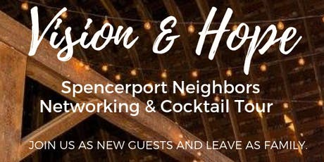Vision & Hope: Networking & Cocktail Tour tickets