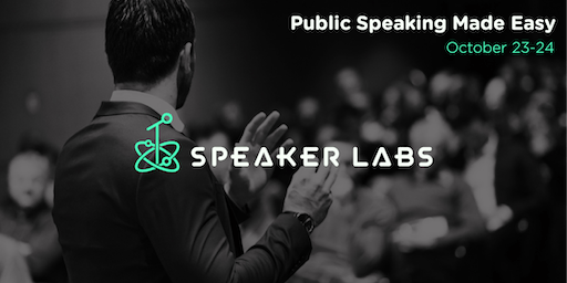 Public Speaking Made Easy - October 2019