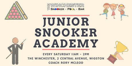 The Winchester Junior Snooker Academy tickets