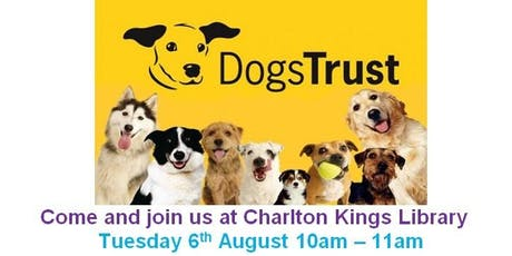 Charlton Kings Library - Fun for Kids at Dogs Trust tickets