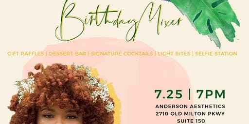 Blog Launch + Birthday Mixer