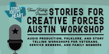 Stories for Creative Forces in Austin tickets