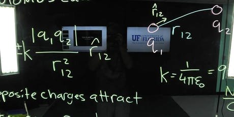 UF Physics Department Lightboard tickets