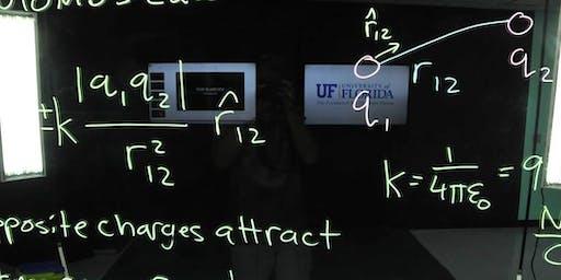 UF Physics Department Lightboard