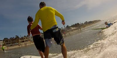 Del Mar, CA 7/20/2019 Free Surf Camp for Kids With Special Challenges