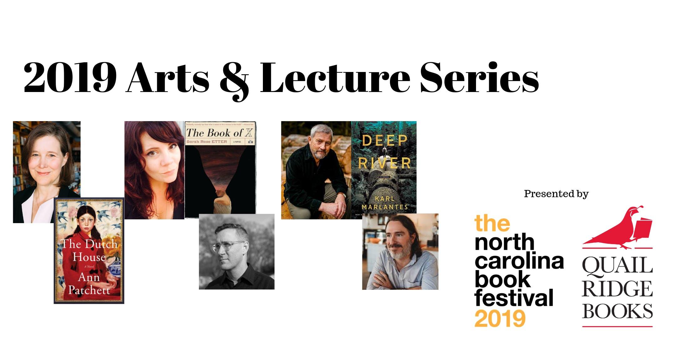 The 2019 NC Book Festival & Quail Ridge Books Arts & Lecture Series