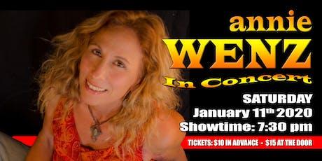 Annie Wenz tickets