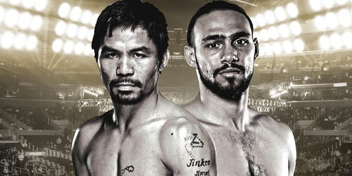 Manny Pacquiao vs. Keith Thurman FIGHT WATCH PARTY AT STADIUM CLUB!!!