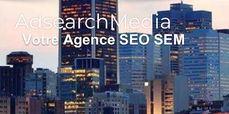 Formation SEM Google ADS Niveau 1 ou 2 à Québec billets