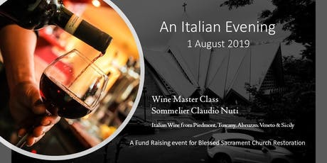 An Italian Wine Night tickets