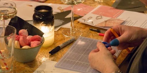 Bespoke Wax Carving Ring Workshop with prosecco & nibbles | ANUKA Jewellery