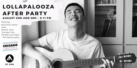 Lollapalooza After Party tickets