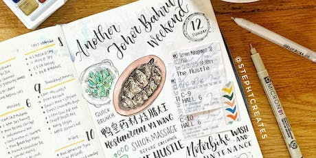 Workshop - Getting Started With Bullet Journal 190720 by Stephanie Tan tickets