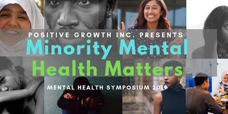 Minority Mental Health Matters 2019 tickets
