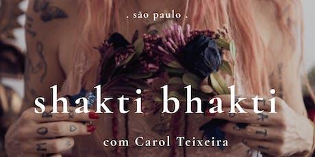 Shakti Bhakti | São Paulo ingressos