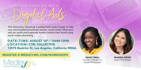Boost Your Biz with Digital Ads-Los Angeles tickets