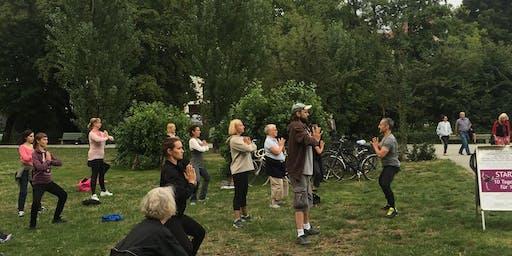 Yogawalking am Lietzensee Berlin-Charlottenburg | Free Event