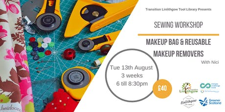 Sewing Workshop: Makeup Bag and Reusable Makeup Removers tickets