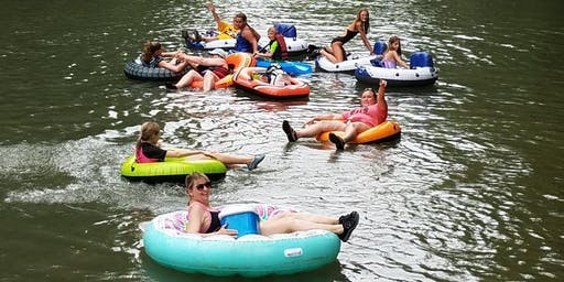 Lazy River Day at Morgan's Brookville with Girl Scout CSAs!