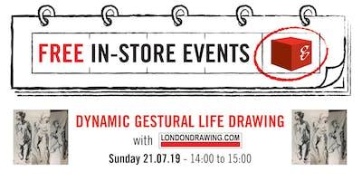 Dynamic Gestural Life Drawing Workshops
