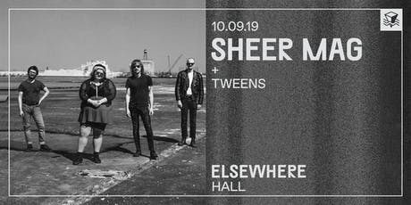 Sheer Mag @ Elsewhere (Hall) tickets