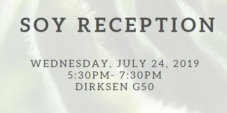 Soy Reception tickets