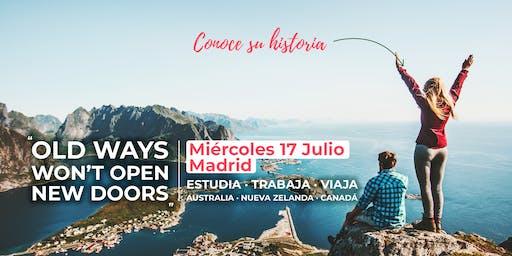 MADRID | Charla gratuita: ¡AHORA O NUNCA!