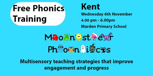 KENT MONSTER PHONICS TRAINING